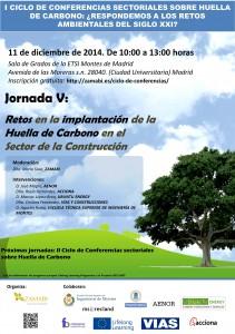 Jornada V Ciclo de Conferencias sectoriales sobre Huella de Carbono